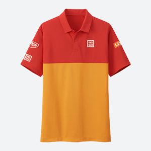 ユニクロ 錦織圭 2018ATPツアーファイナル着用シャツ