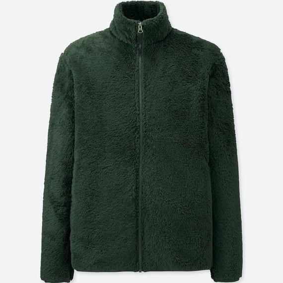 ユニクロ 平野歩夢 着用 ファーリーフリースフルジップジャケット