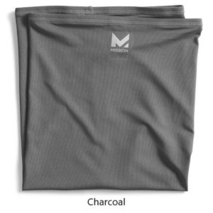 mission-Multi cool neck gaiter-charcoal