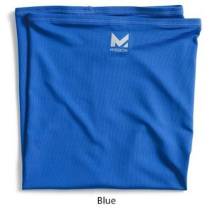 mission-Multi cool neck gaiter-blue